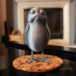 IMG_9818.jpg Download free STL file A little standing Porg • Object to 3D print, ricardo-jfa