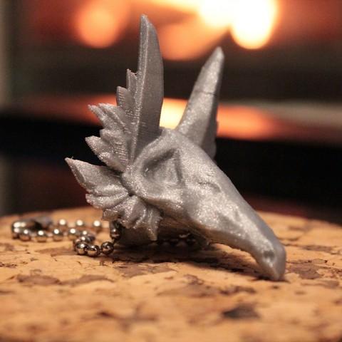 Free 3D printer file Totally not a Cubone - Keychain, ricardo-jfa