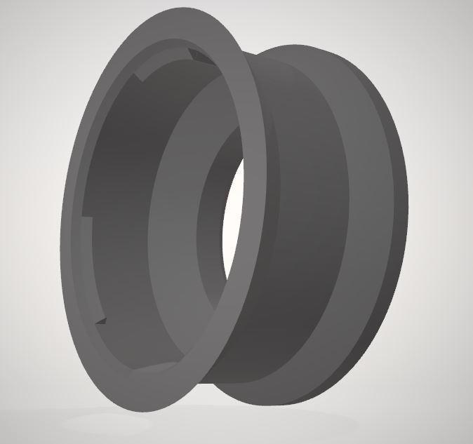 Sony-A-2-E_mnt(v1) 2.JPG Download STL file Sony A mount (Minolta AF) to E mount adapter • 3D print design, vintage-lens