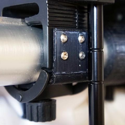 sinar-F1-clamp-repair (v1.3).JPG Download STL file Sinar rail clamp (camera/tripod support) & F1 repairs • 3D printing object, vintage-lens