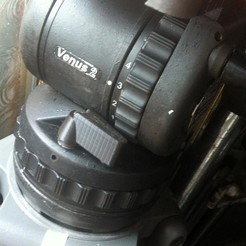 Download STL files tripod head locking/brake handle, vintage-lens