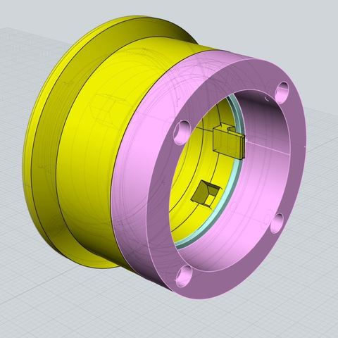 Descargar archivo 3D Lente Arri-S al adaptador Sony E-mount (NEX), vintage-lens