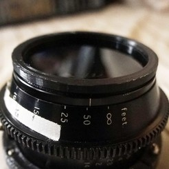series8 filter to 67mm adapter 3D model, vintage-lens