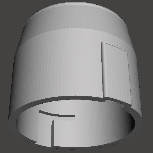 Arri-B-rear-lens-cap (2).JPG Download STL file Arri-S & Arri-B rear lens cap • 3D printer model, vintage-lens