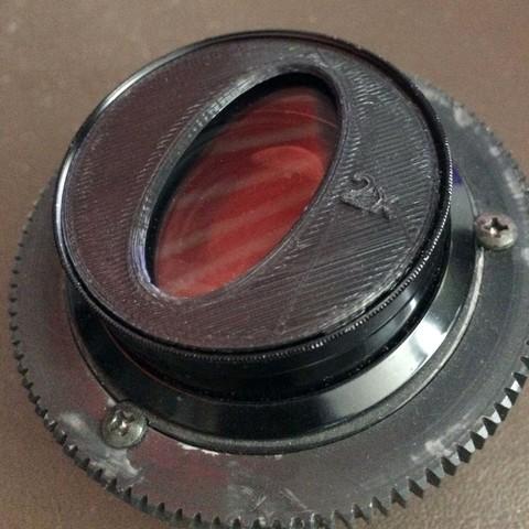 3d model Photo bokeh set 52mm, vintage-lens