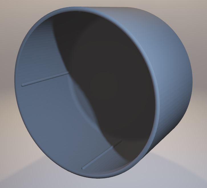 Assi-S-cap-int.jpg Download STL file Arri-S & Arri-B rear lens cap • 3D printer model, vintage-lens