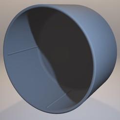 Descargar modelos 3D para imprimir Tapa de la lente trasera Arri-S y Arri-B, vintage-lens