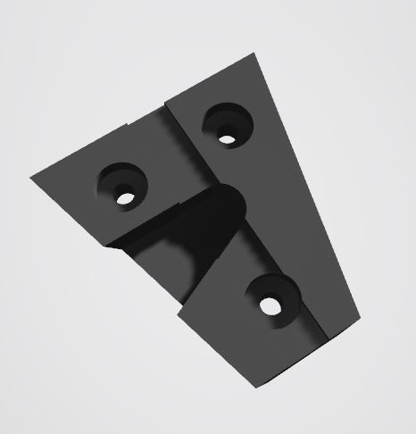 V-mount hook M2.5 [v2].JPG Download STL file V-Mount Battery Back Pack Plate to 15mm bars Adapter • Object to 3D print, vintage-lens