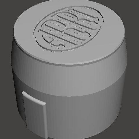 Arri-B-rear-lens-cap.JPG Download STL file Arri-S & Arri-B rear lens cap • 3D printer model, vintage-lens
