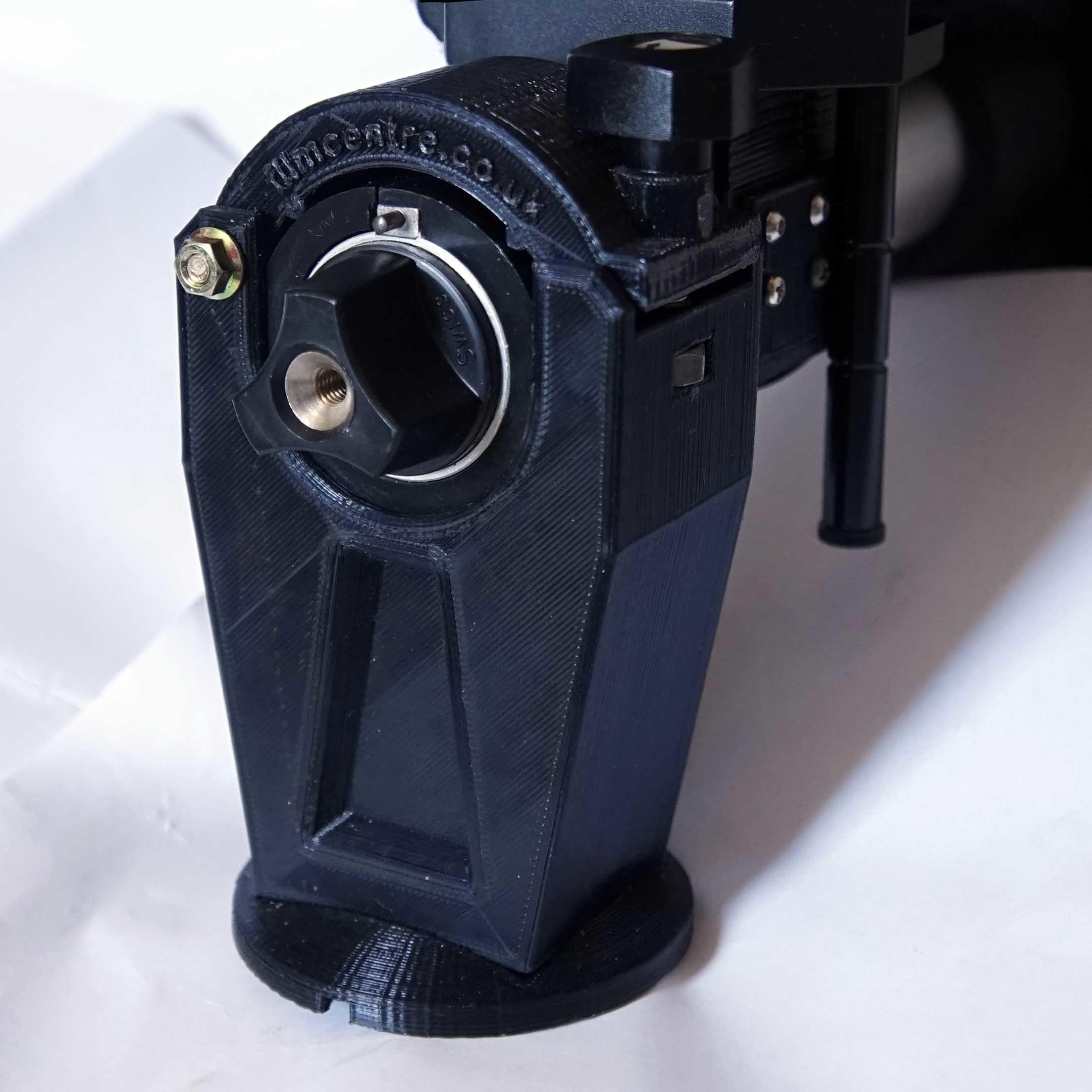 sinar-tripod-mount-pillar1.JPG Download STL file Sinar rail clamp (camera/tripod support) & F1 repairs • 3D printing object, vintage-lens