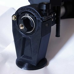 Download 3D printer designs Sinar rail clamp (camera/tripod support) & F1 repairs, vintage-lens