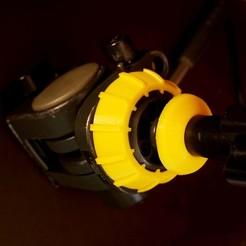 Download 3D printing models Tripod 65mm to 75mm bowl adapter/spacer, vintage-lens