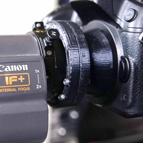 Download 3D printing designs Video B4 Lens to Micro four-thirds mount adapter, vintage-lens