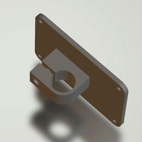 V-mnt-15mmBarv5plate-1.JPG Download STL file V-Mount Battery Back Pack Plate to 15mm bars Adapter • Object to 3D print, vintage-lens
