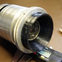 Download STL file Bell & Howell 2709 lens housing, vintage-lens