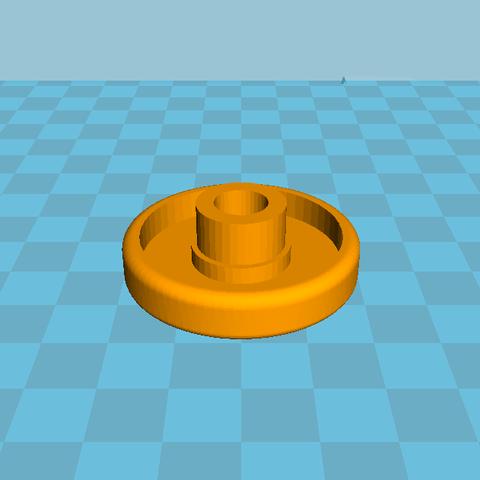 Capture.PNG Download STL file Wheel dishwasher & Axis wheel dishwasher • 3D print design, LedZo