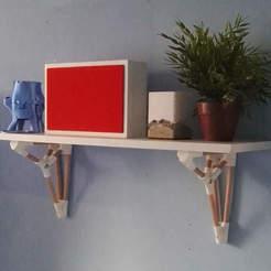 Free STL parametric shelf brackets, victor_designs