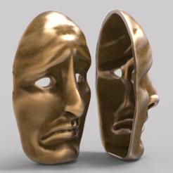 diseños 3d gratis Máscara, 3DGuyDubai
