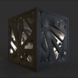 Free 3D printer file Voronoi Lamp, 3DGuyDubai
