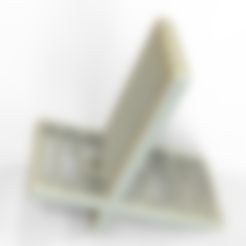 Free 3d printer designs Mobile Holder/Stand, 3DGuyDubai