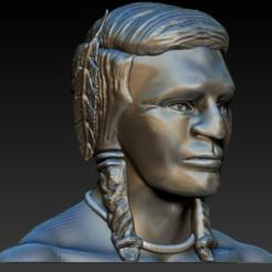 modelos 3d gratis Indian Head (Soporte cero y sin relleno) - Modelo hueco, 3DGuyDubai