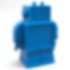 Free 3D printer file 3D Printing This Robot, 3DGuyDubai