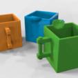 Free 3d printer files Box Cups, 3DGuyDubai