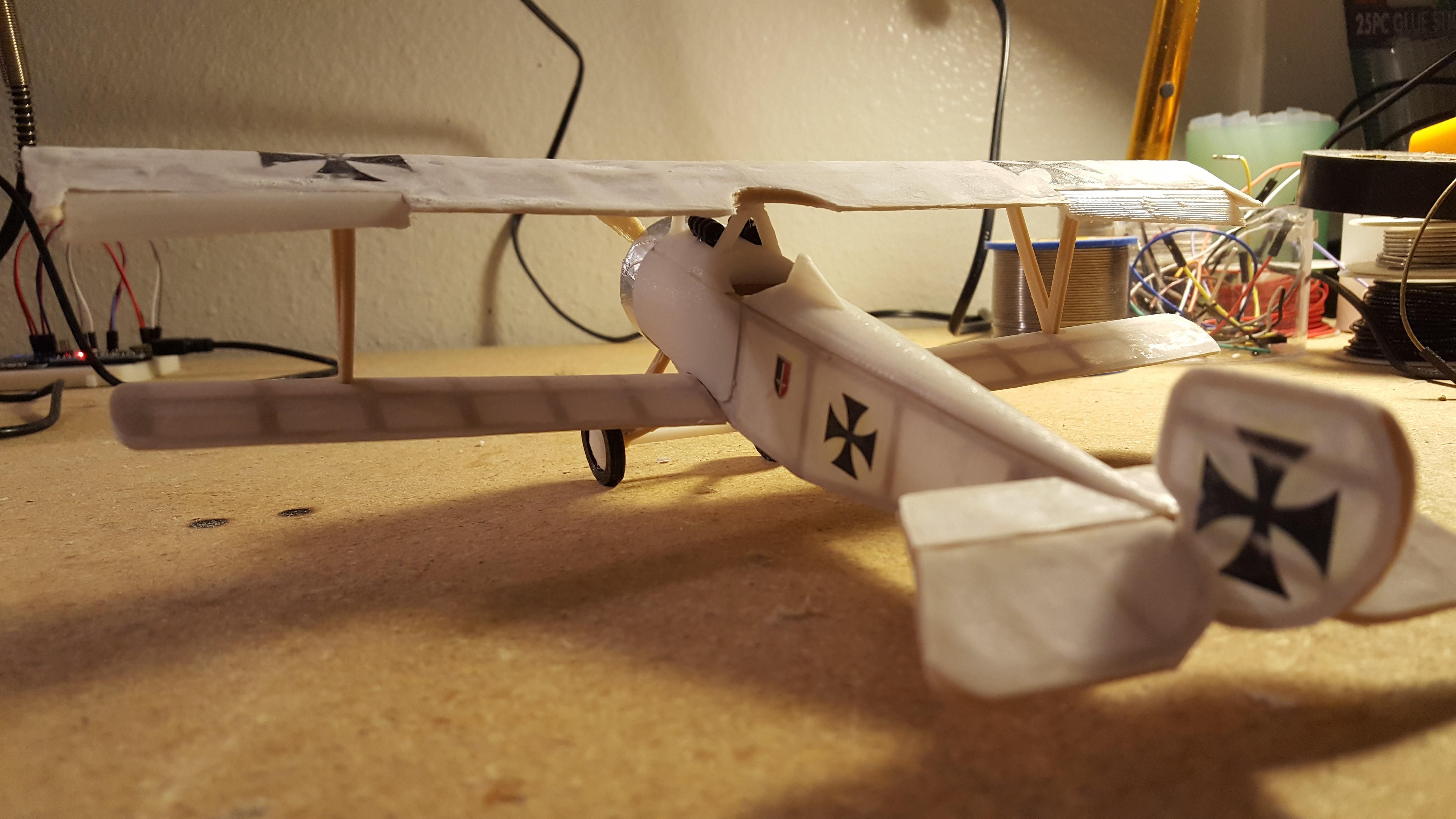 20171014_003643.jpg Download STL file Nieuport 17, WW1 Warplane • 3D printing design, JimmyHo