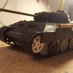 Archivos STL Panther Tank, WW2, JimmyHo