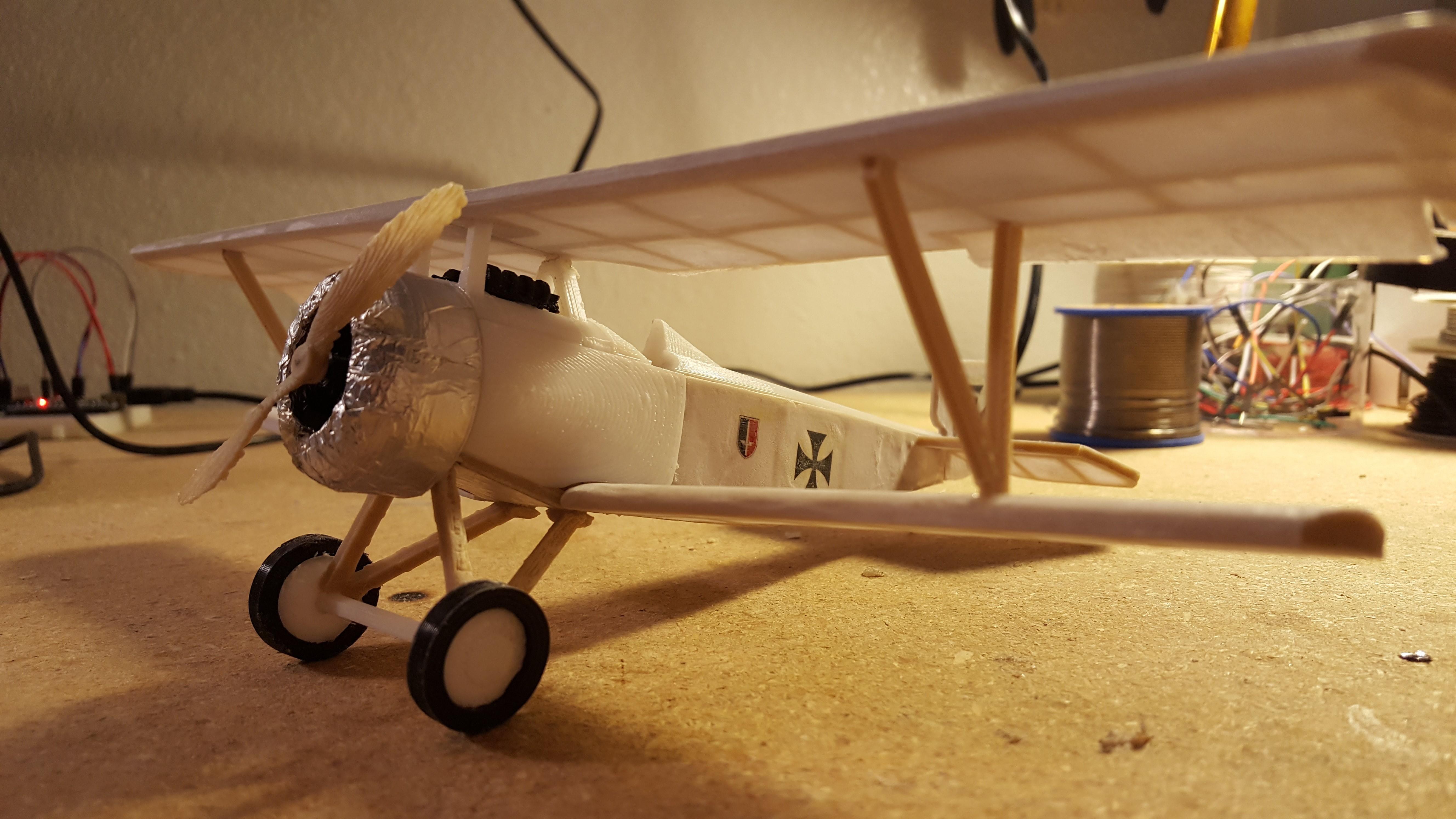 20171014_003619.jpg Download STL file Nieuport 17, WW1 Warplane • 3D printing design, JimmyHo