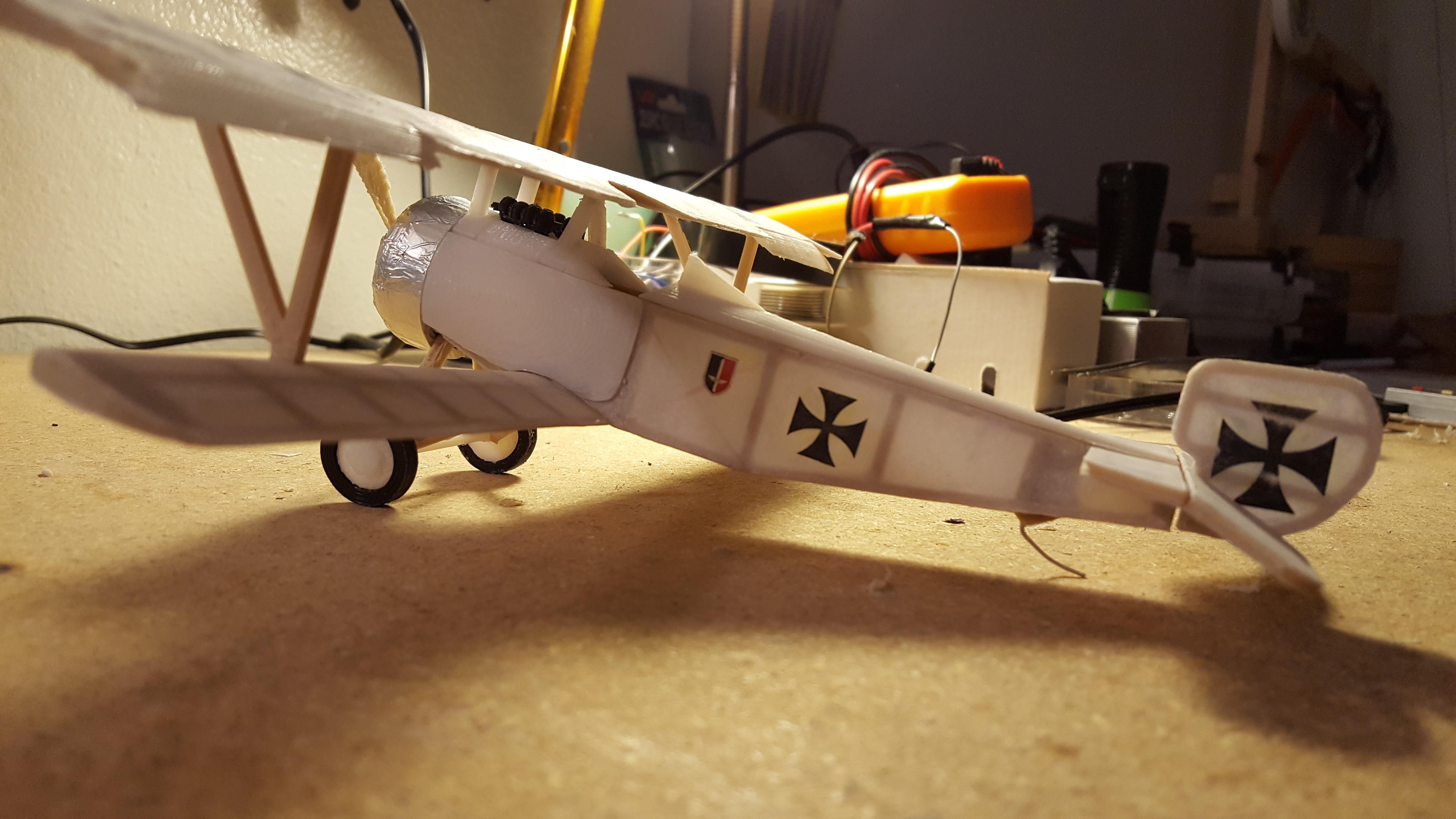 20171014_003649.jpg Download STL file Nieuport 17, WW1 Warplane • 3D printing design, JimmyHo