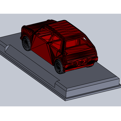Download free 3D printer designs support voiture collection, guiguibdm