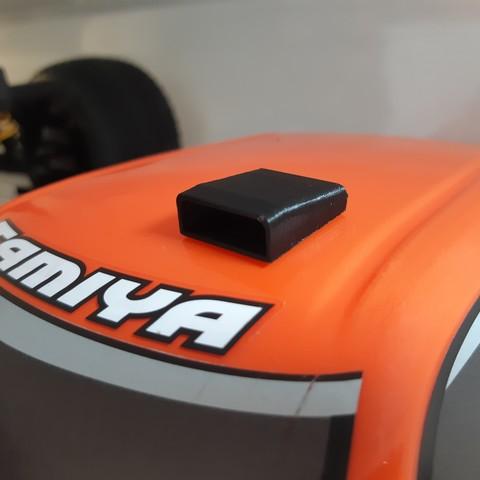 Télécharger fichier STL gratuit Prise d'air modelisme rc • Objet imprimable en 3D, Sim-Nitro