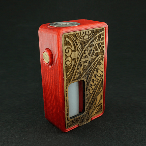 Free 3d print files Mechanical Squonk Mod, ModernCrafts