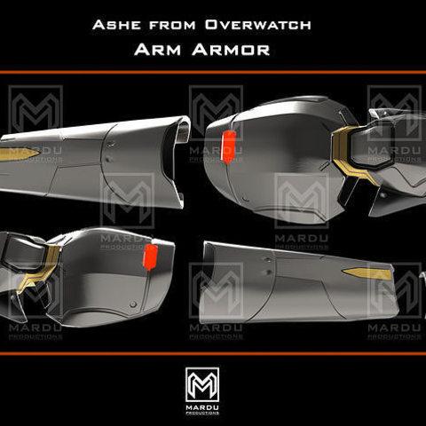 Télécharger modèle 3D Armure Ashe's Arm (Overwatch), MarduProductions