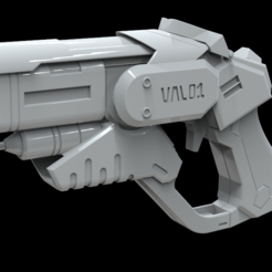 Download 3D printing templates Mercy combat medic gun, MarduProductions