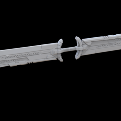 Download 3D printer model Thanos' sword End game, MarduProductions