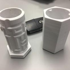 Imprimir en 3D gratis Caja de regalo para billetes de lotería, LaurentMondon