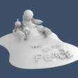 Download free 3D printer templates We Come in Peace (NOT), 3deran
