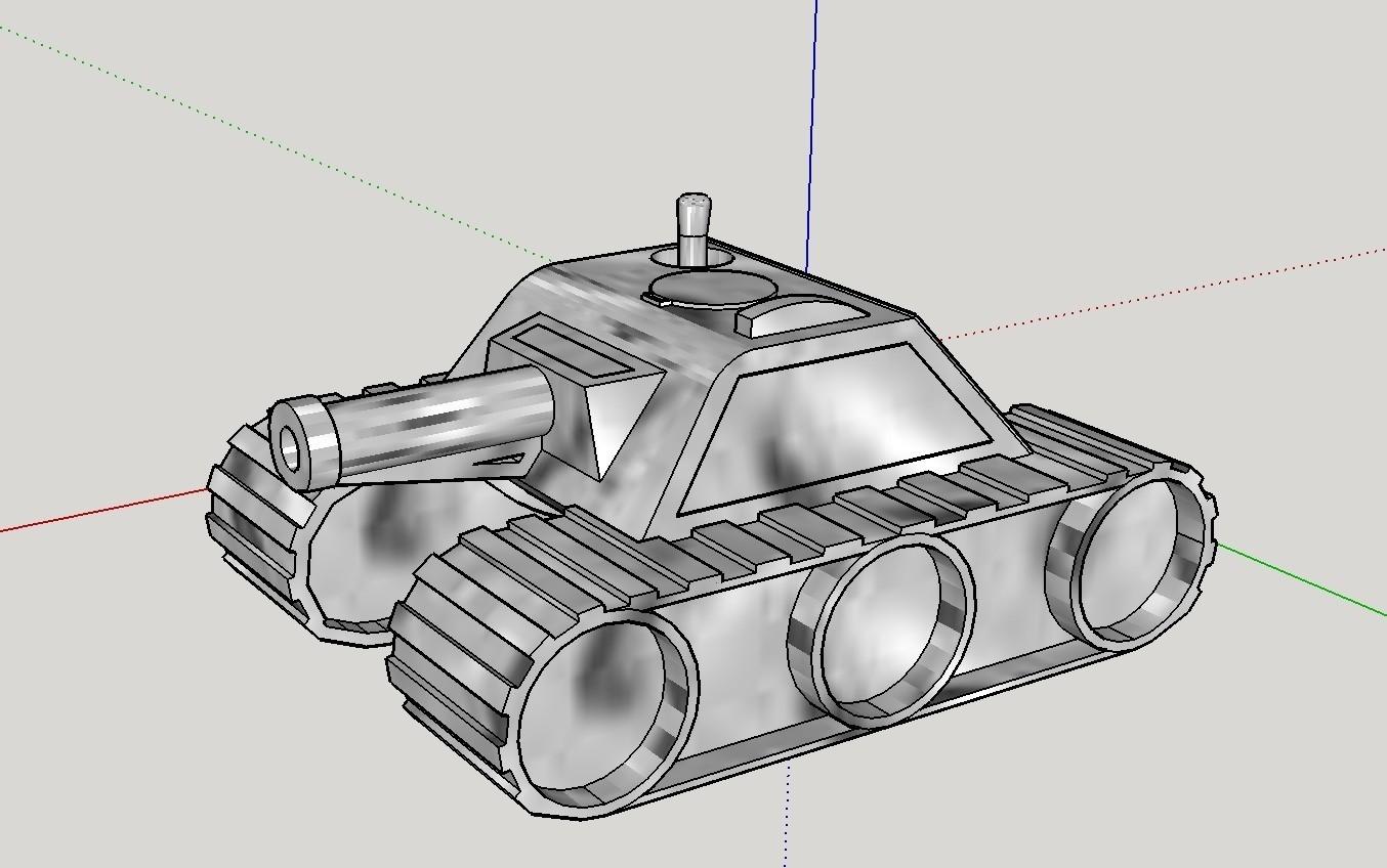Tank.jpeg Télécharger fichier STL gratuit Max réservoir 1.7 • Design pour impression 3D, dunk7