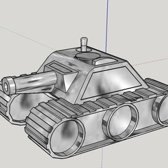 Download free STL file Max Tank  1.7 • 3D printable object, dunk7