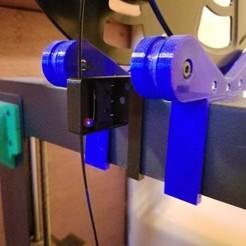 1.jpg Télécharger fichier STL gratuit Wanhao i3 Capteur et guide de faux-rond de filament • Plan à imprimer en 3D, eight_heads
