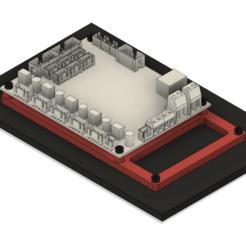 Descargar Modelos 3D para imprimir gratis MKS Gen 1.4 a Gen L o SKR v1.3 - Adaptador de montaje, eight_heads