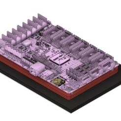 Descargar archivos 3D gratis Adaptador de montaje Bigtreetech SKR Pro a MKS Gen 1.4, eight_heads
