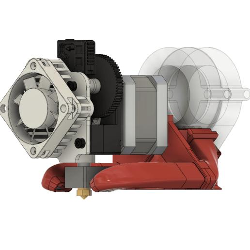 Download Free 3D Printer Model FT-5 OptiCooler For Titan