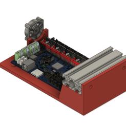 Descargar archivo 3D gratis Bigtreetech SKR V1.4 Montaje para la extrusión de 2040, eight_heads