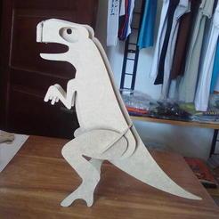 Download free 3D printer templates Dino - TR, Pablo72