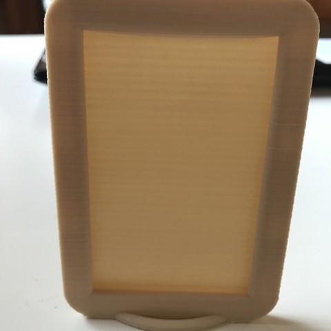 IMG_7280.jpg Télécharger fichier STL gratuit Cadre pour polaroïd Instax MINI • Objet pour impression 3D, zamo