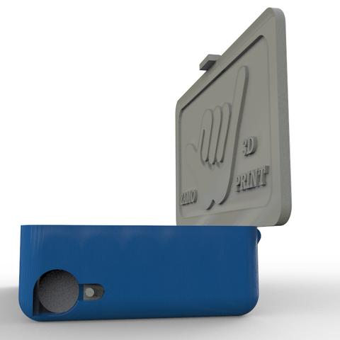 Télécharger fichier STL gratuit boîte à cigarettes • Plan pour imprimante 3D, zamo