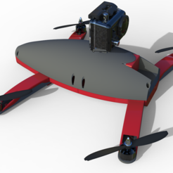drone1.PNG Download free STL file Programmable Drone • 3D printing object, zamo